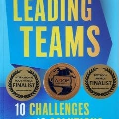 4 international book awards for Leading Teams
